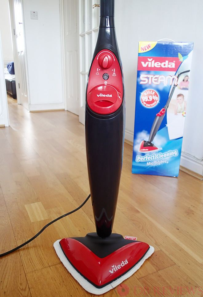 Fast Chemical Free Cleaning With The Vileda Steam Mop