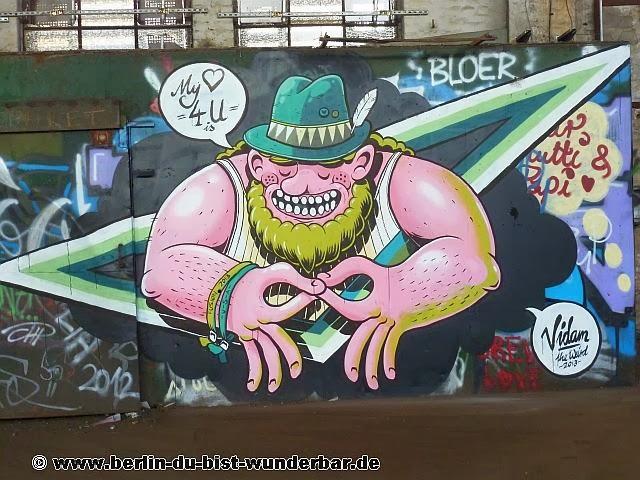 berlin, pankow, bahn, lokschuppen, drehschiene, vidam, streetart