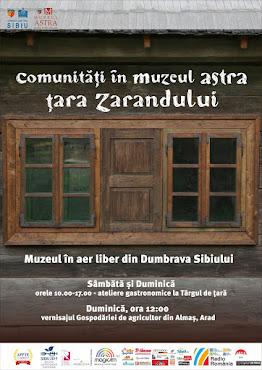 Comunități în Muzeul ASTRA: Țara Zarandului