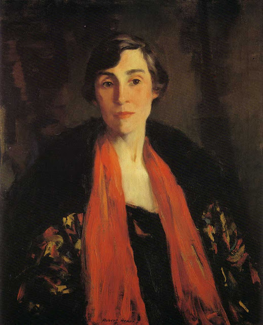 1917 Portrait of Mary Fanton Roberts