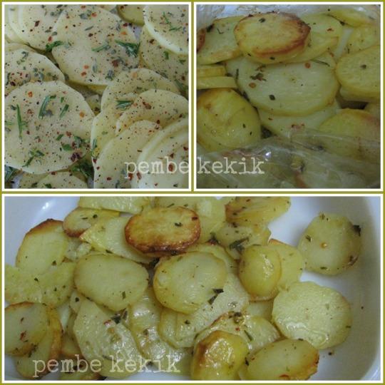 firin posetinde patates