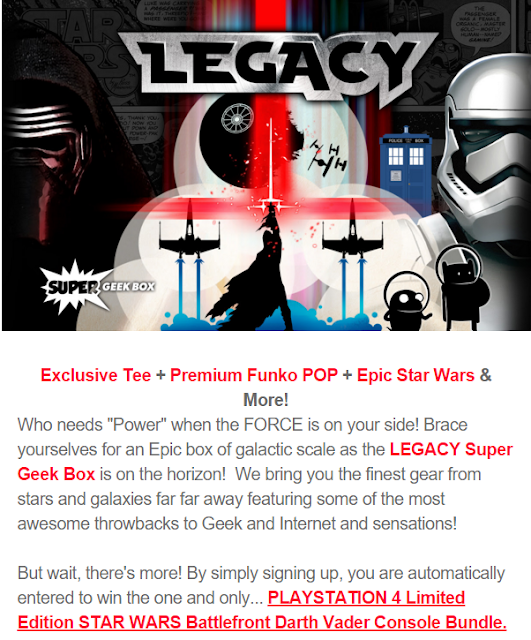 super geek box nov 15 spoiler