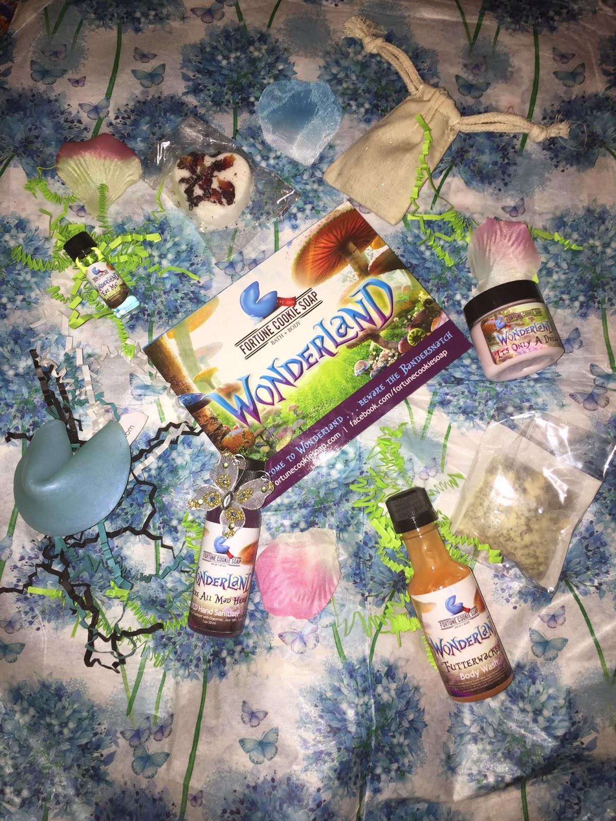 Ljsblogblog: SPRING SOAP BOX, WONDERLAND fortune cookie ...