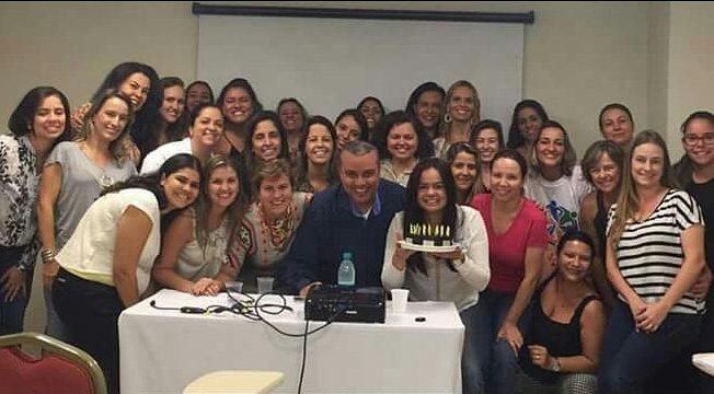 Turma de pós graduação em Sindrome Down Belo Horizonte-MG