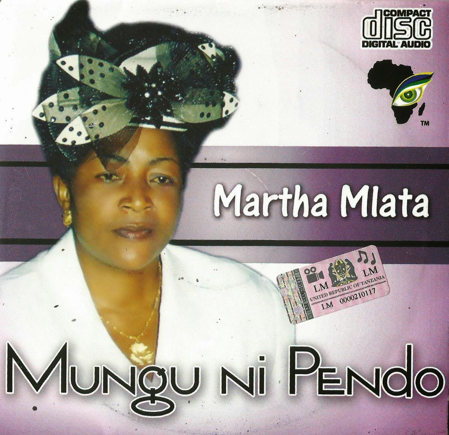 JIPATIE AUDIO CD YA MH. MARTHA MLATA