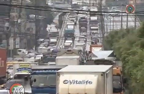 Traffic on C-5 August 26 2014 - TV Patrol News