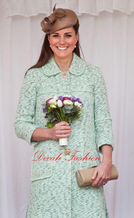 Busana Hamil Tua Kate Middleton