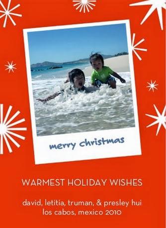 Warmest Holiday card 2010