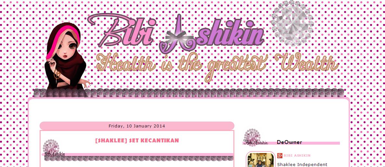 Edit Blog Bibi Ashikin