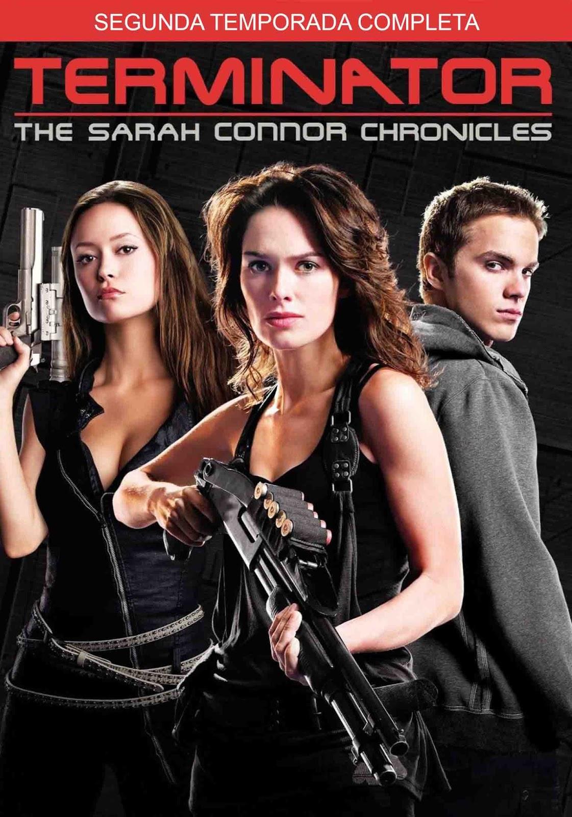O Exterminador do Futuro: Crônicas de Sarah Connor 2ª Temporada Torrent - Blu-ray Rip 720p Dublado (2009)