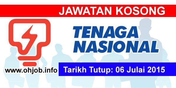 Jawatan Kerja Kosong Tenaga Nasional Berhad (TNB) logo www.ohjob.info julai 2015