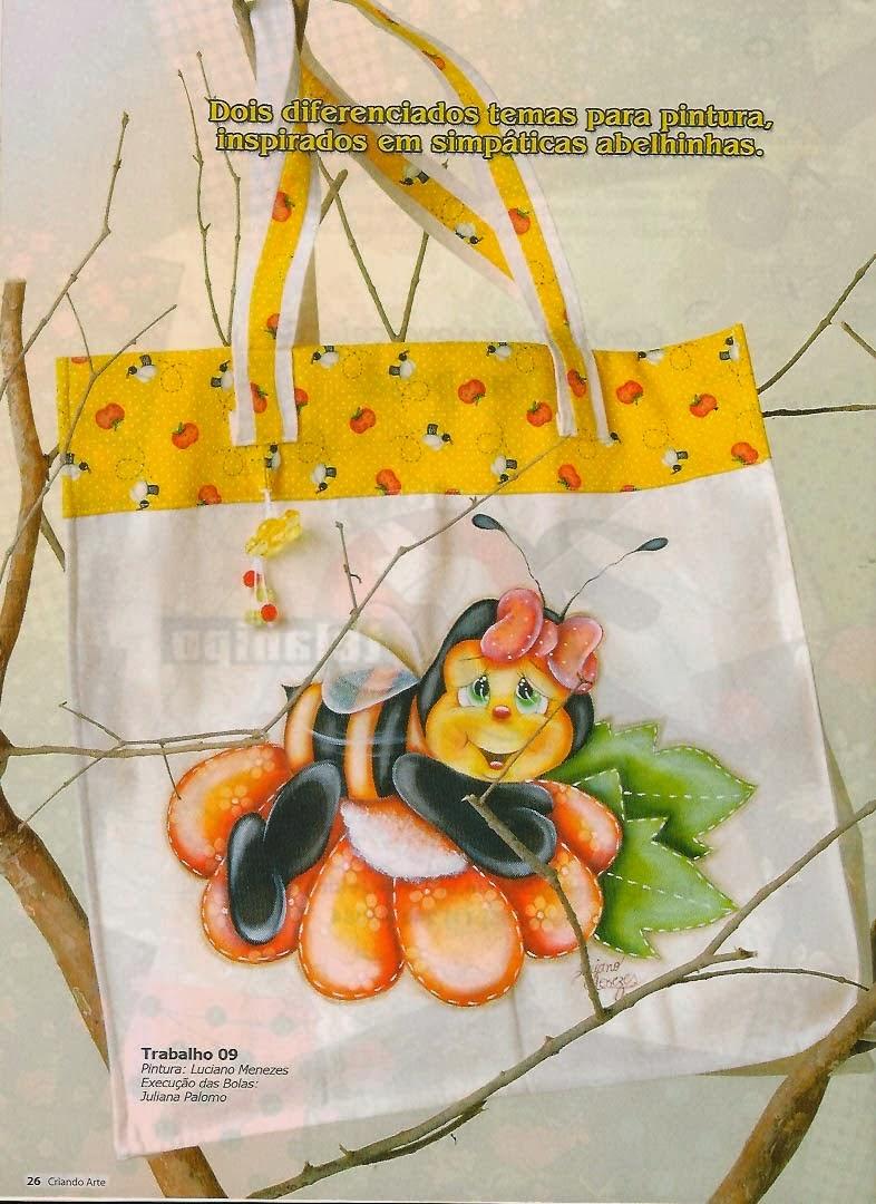 Riscos para pintura de joaninhas galinhas e abelhinhas