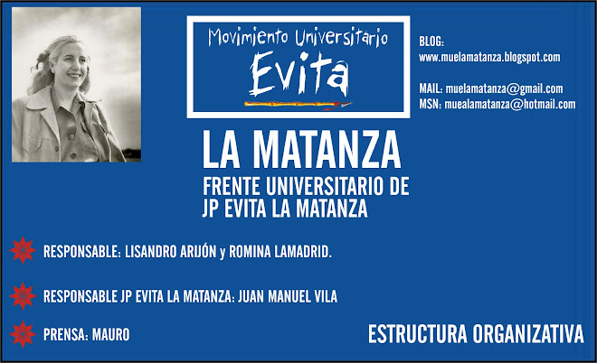 Movimiento Universitario Evita La Matanza