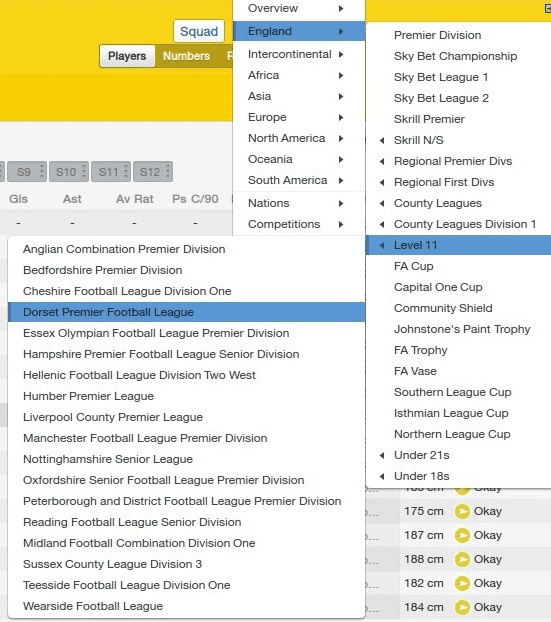 FM14 English Lower Leagues Database Level 11