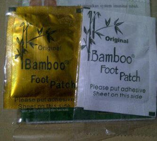 bamboo foot patch
