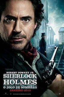 sher Sherlock Holmes   O Jogo de Sombras   BDRip AVI Dual Áudio + RMVB Dublado