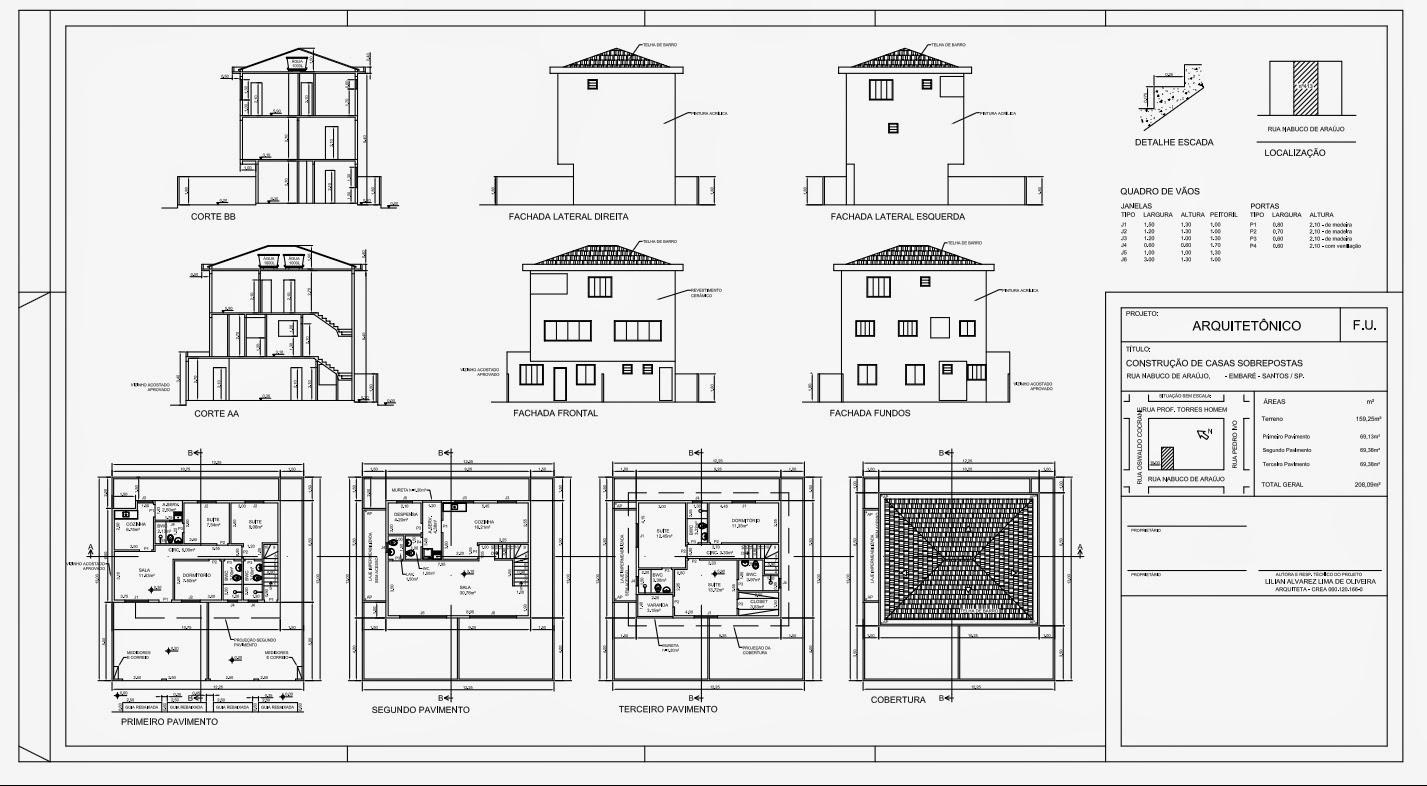 Seu Projeto Em 3d Casas Sobrepostas I