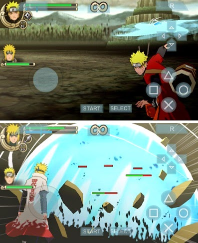 Game PPSSPP android Naruto Ninja Impact CSO sudah HighCompress