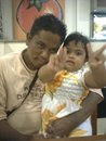 my hubby n my lovely daughter