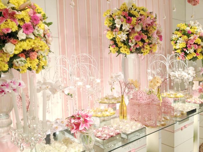 Decoração de Casamento Rosa e Lilás (#fevereirotododia #16)