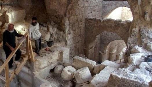 Puerta de ingreso al palacio del rey Herodes