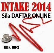 BORANG ONLINE INTAKE 2014