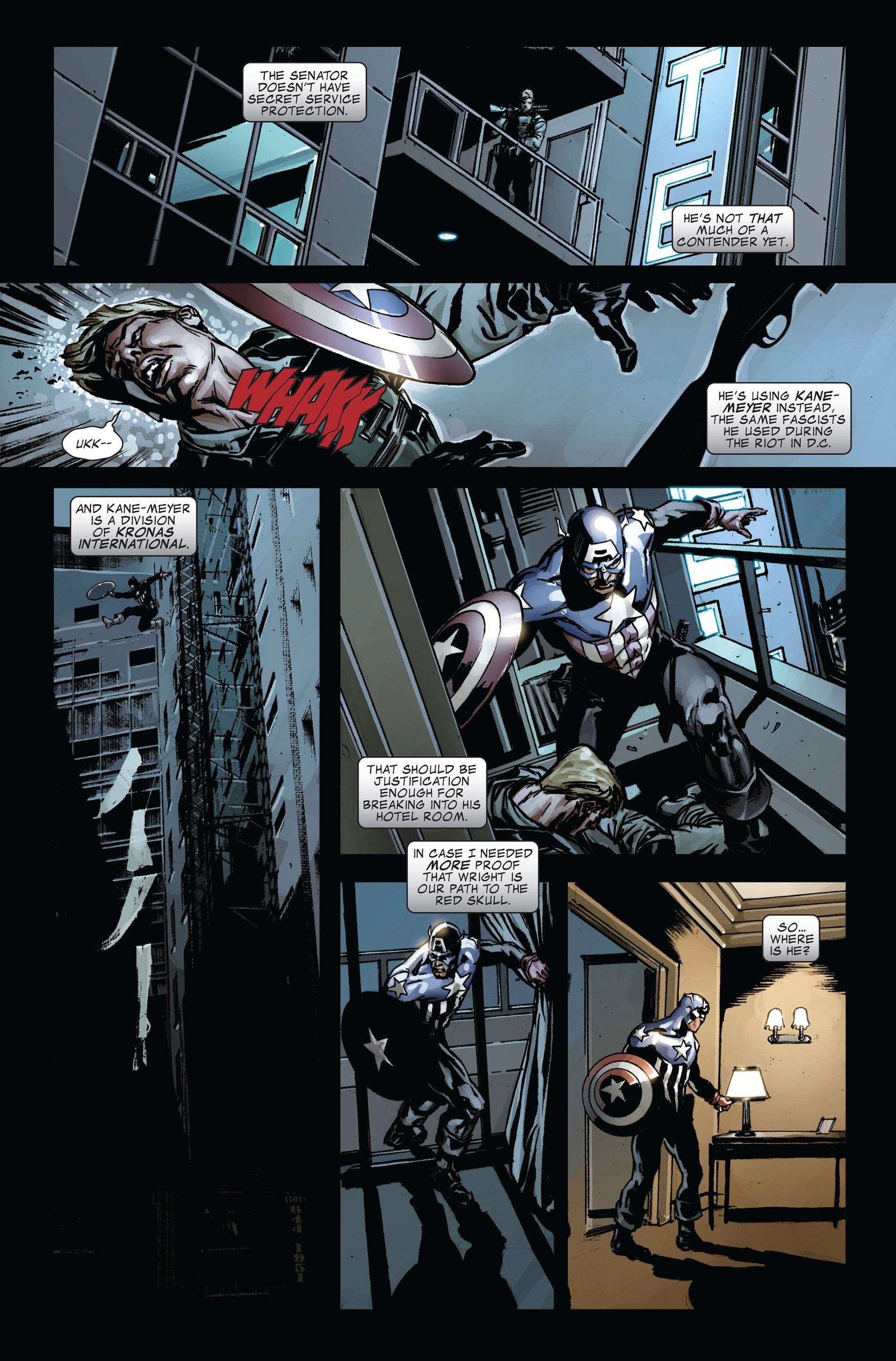 Captain America (2005) Issue #39 #39 - English 19
