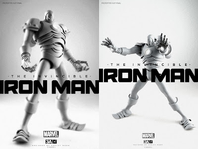 First Look: Marvel Comics x ThreeA Iron Man 1/6 Action Figure by Ashley Wood