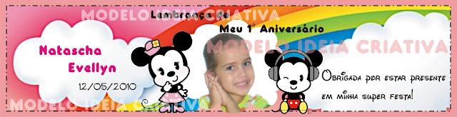 Rótulo pra Papinha  Personalizado festa aniversário infantil