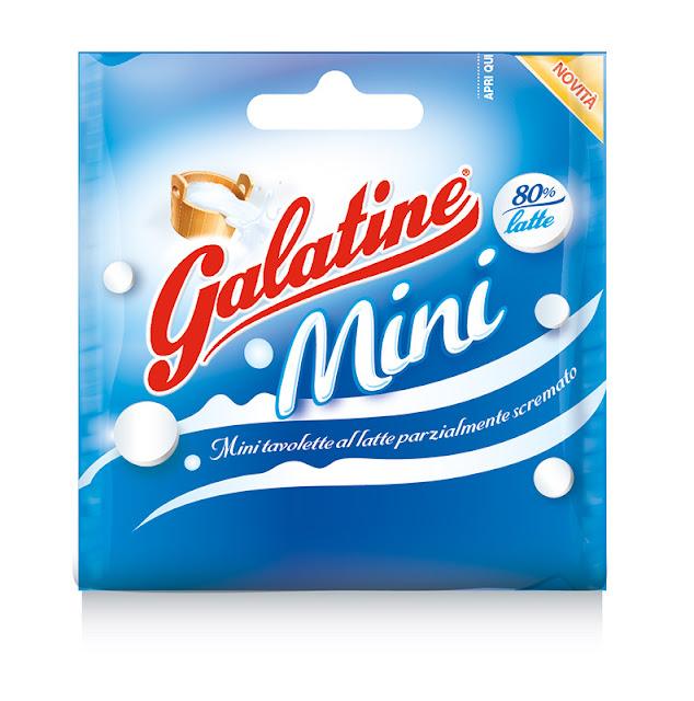 Le nuove Galatine tavolette latte e fragola