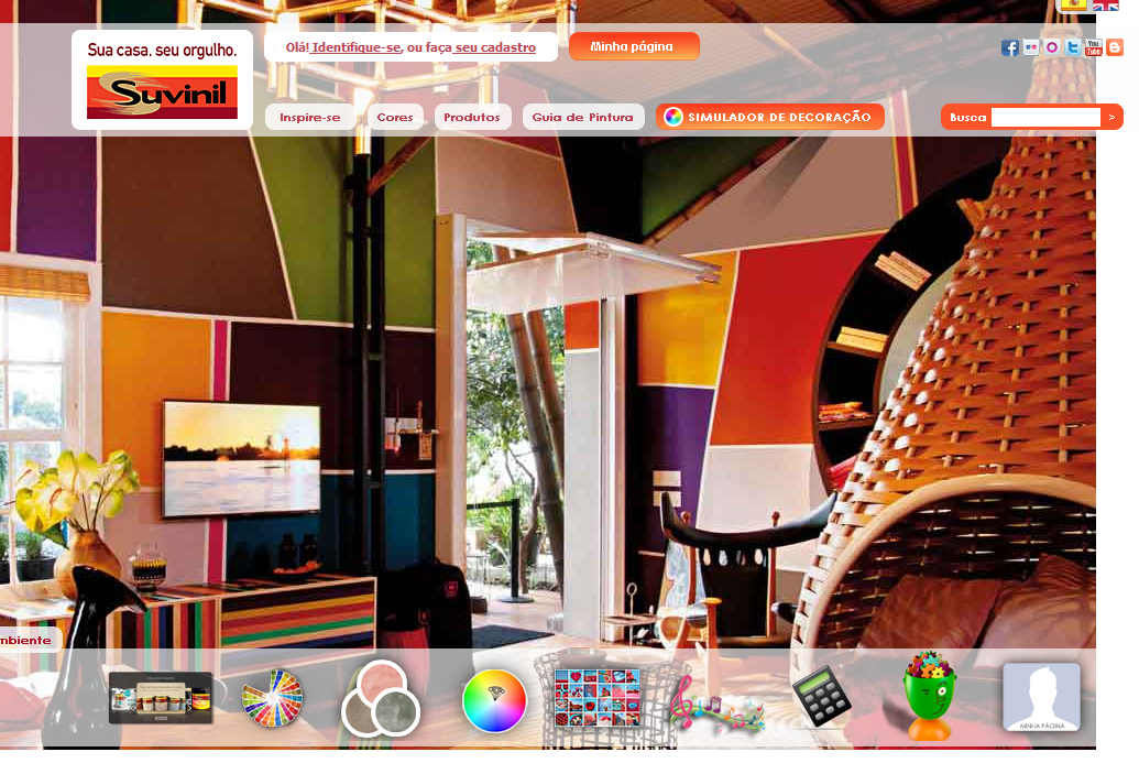 Curiousguys2 tintas suvinil 2013 2014 simulador cores - Pinturas bruguer simulador ...