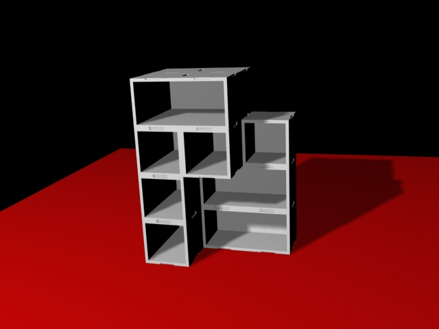 Reno Dise O Industrial Mueble Modular