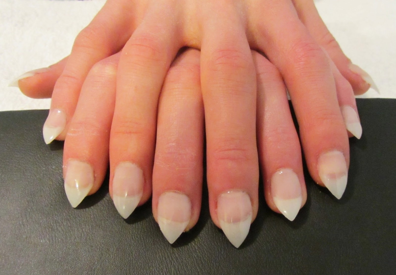 The Nail Whisperer: Fun With Acrylics;; Pointed Nails! ♥♥