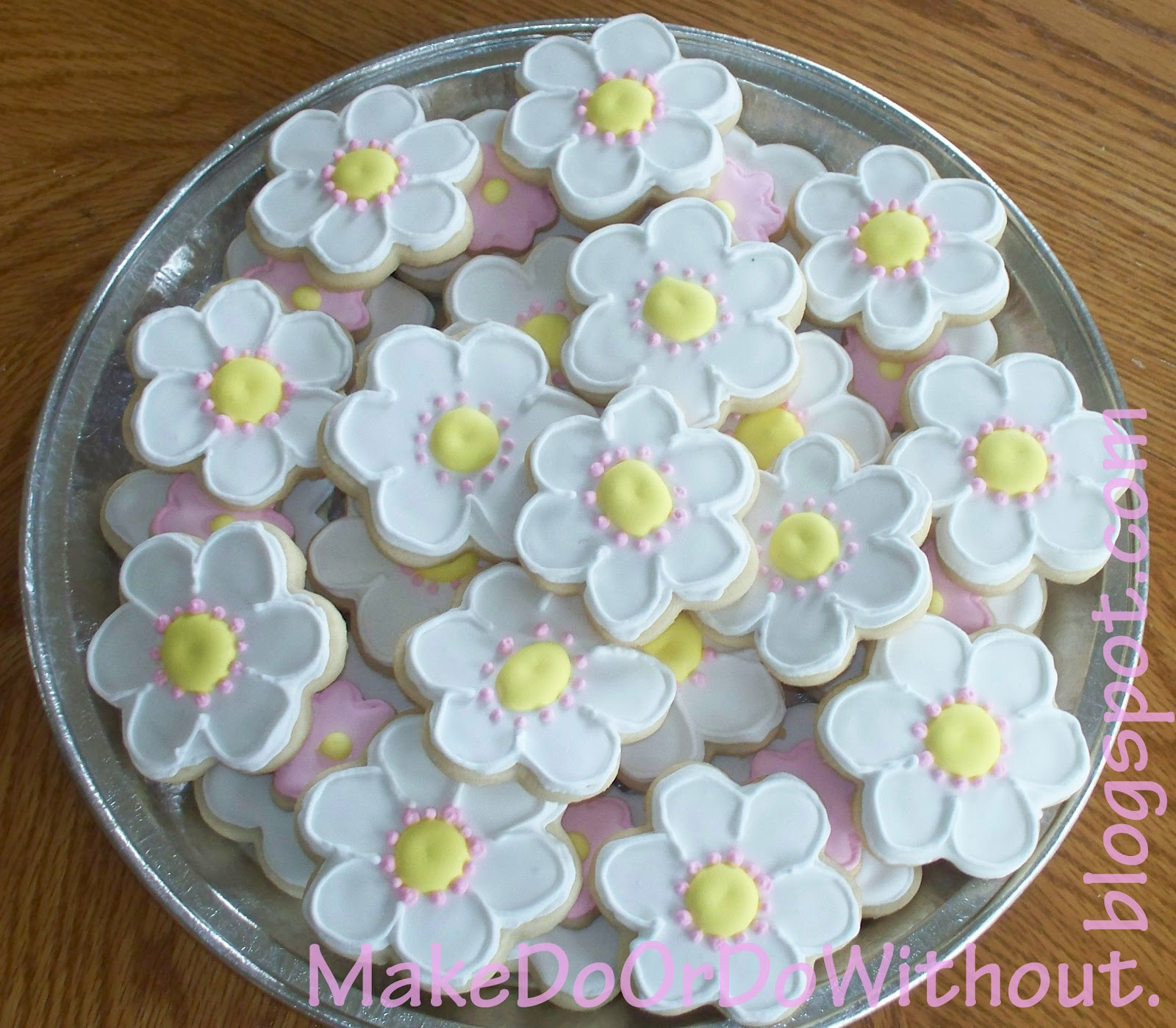 Make Do Spring Flower Cookies
