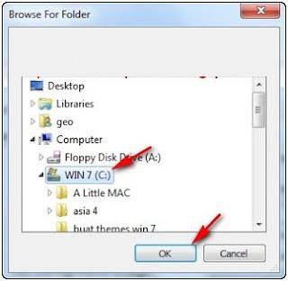 Cara mengubah gambar background folder pada explorer windows 7