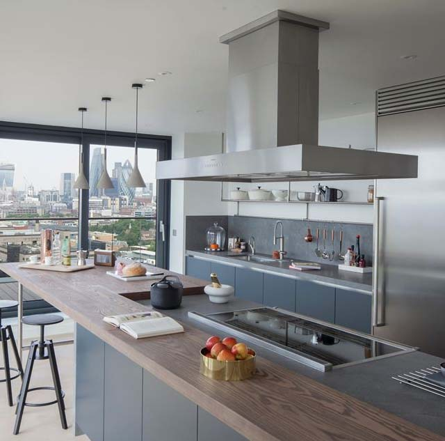 Wapping Lane Penthouse by Amos and Amos | ARC ART blog by Daniele ...