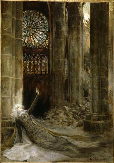 Rochegrosse, Intérieur de cathédrale