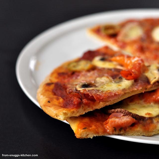 Pizza-Mix, gepimpt