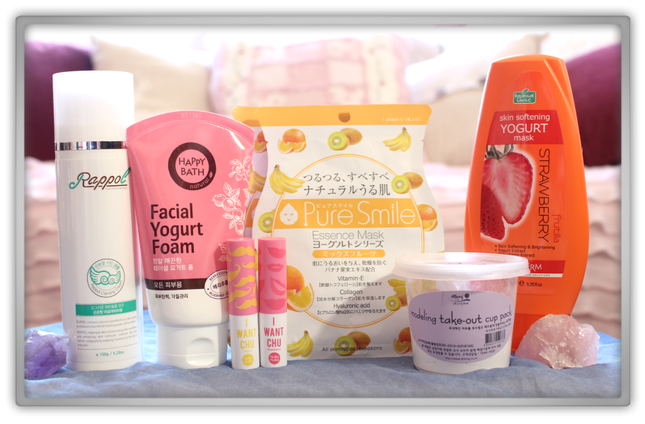 겟잇뷰티박스 by 미미박스 memebox beautybox Memebox Superbox #56 Yoghurt Cosmetics unboxing review box look inside