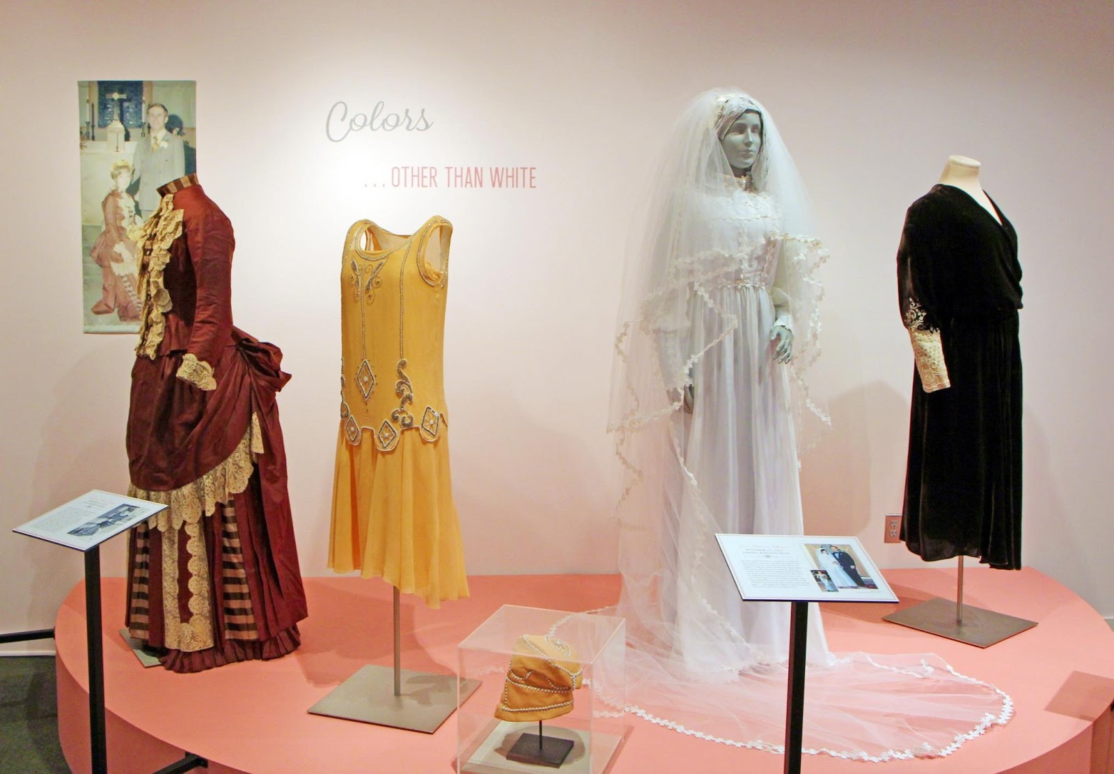 madelines very orange flapper wedding flapper wedding dress Madeline Sirois Parker loved color Living in Aroostook County Maine the sunny days were revered and often called for excursions to pick fruit and enjoy a