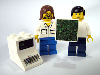 Steve and Steve ... as Legos