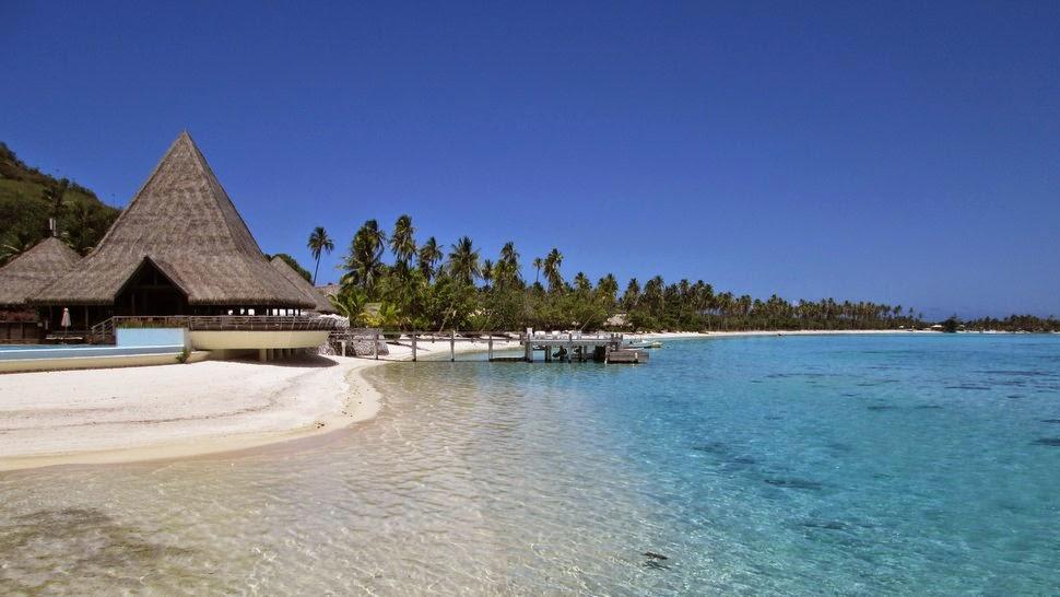 Lobby du Sofitel Moorea Ia Ora Beach Resort