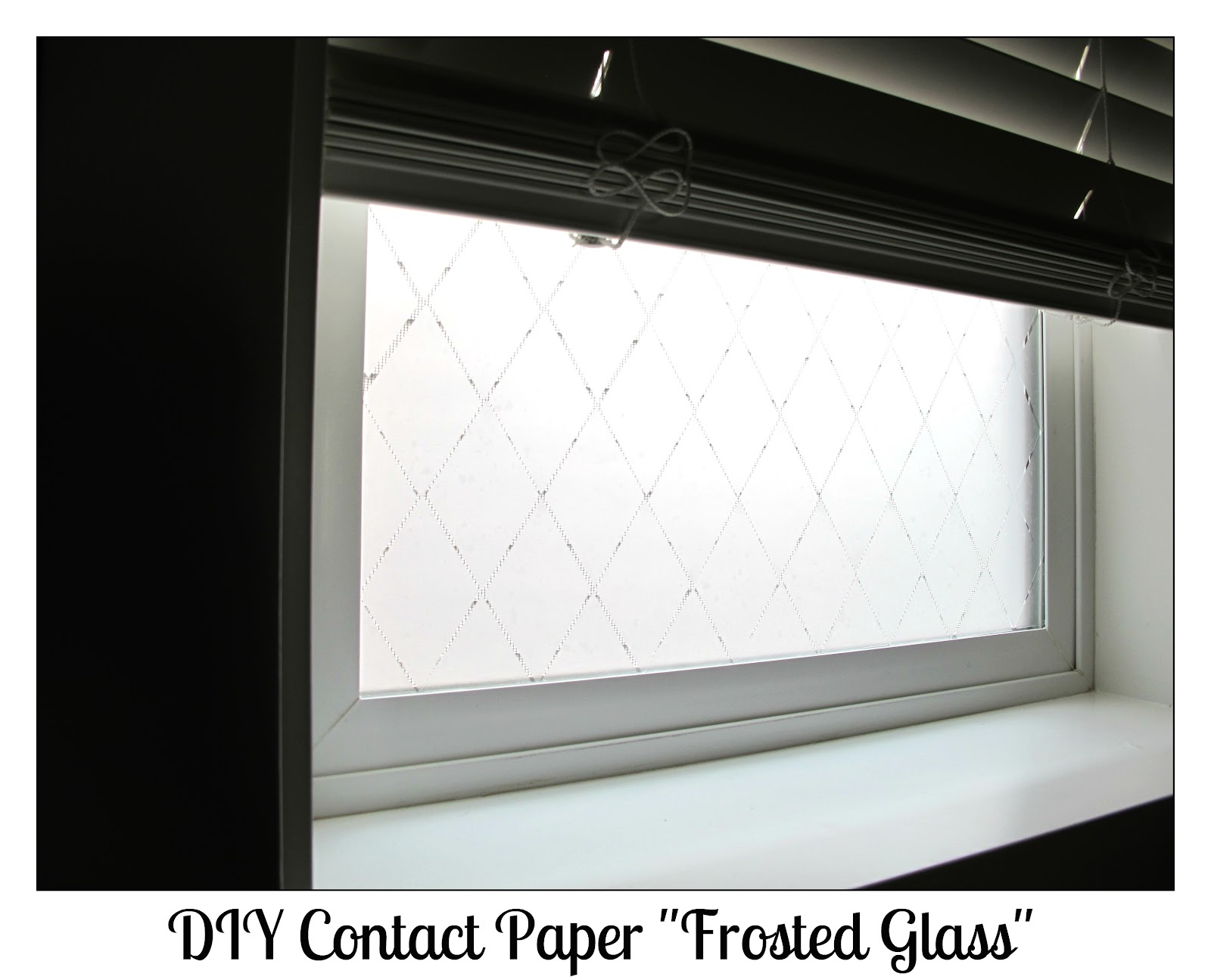 Classroom diy diy frosted glass windows for Glass windows