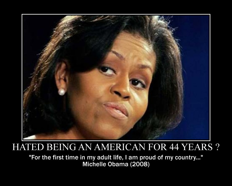 Michelle Obama proud of being an American