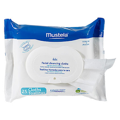 Mustela, Mustela Facial Cleansing Cloths, cleansing cloths, cleansing wipes, cleanser, skin, skincare, skin care, makeup artist, Norman Sands