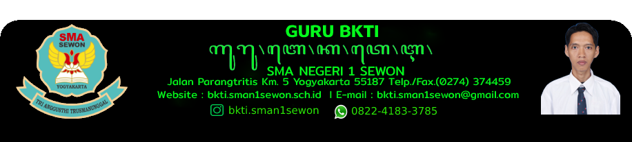 BKTI SMAN 1 Sewon
