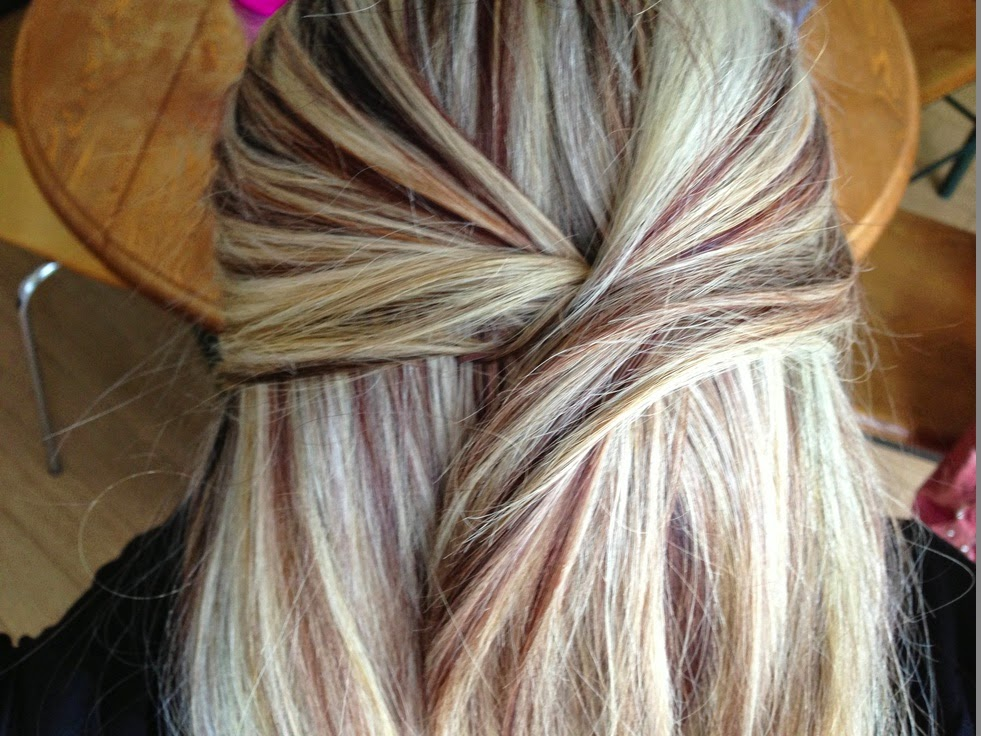 Hairstyles And Women Attire Blonde Highlights I Love The Auburn