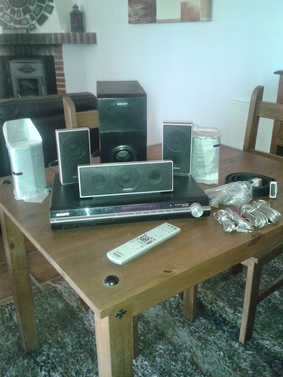 Digame: For Sale - Sony Home Cinema System