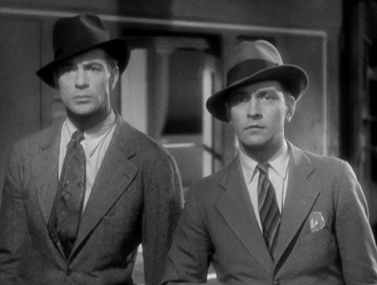 Gary Cooper and Fredric Marsh star in Design for Living