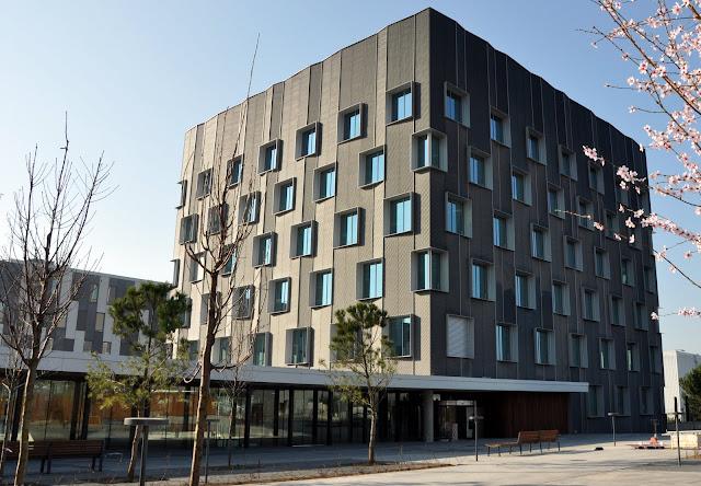 Imar arquitectura metal architecture metal banc - Oficinas banc sabadell barcelona ...